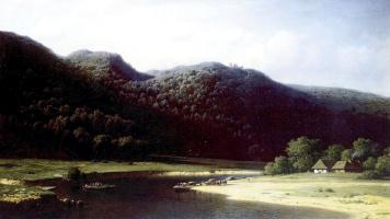 Михаил Константинович Клодт. Долина реки Аа в Лифляндии