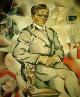 Владимир Давидович Баранов-Россине. Портрет художника И. Ф. Колесникова