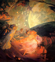 Paul Albert Benar. Decorations for ceiling