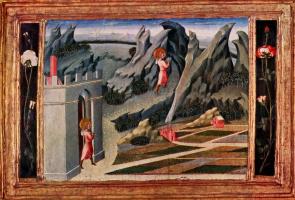 Джованни ди Паоло. Св. Иоанн Креститель в пустыне