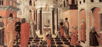 Нероккио Де Ланди. Эпизод из жизни Святого Бенедикта