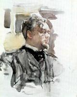 Валентин Александрович Серов. Портрет Сергея Сергеевича Боткина