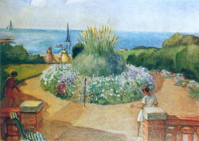 Henri Lebasque. Terrace Prepay