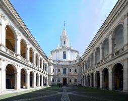 Francesco Borromini. Sant Ivo alla Sapienza