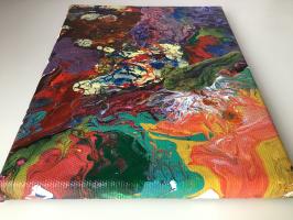 Karina. Abstraction painting