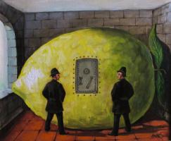 Олег Егорович Щербатых. Лимон в лимоне.   2012