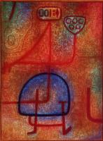 Paul Klee. Beautiful gardener
