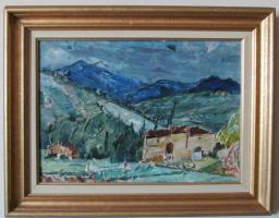 """Oleksa Hryshchenko. """"Farm in Tuscany"""""""