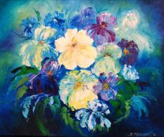 Margarita Eduardovna Prozorova. Winter bouquet