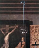 Ян Вермеер. Аллегория католической веры. Фрагмент