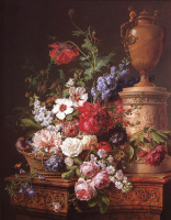 Герард ван Спаендонк. Натюрморт с цветами