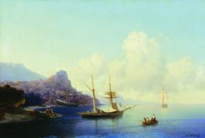 Ivan Aivazovsky. Gurzuf