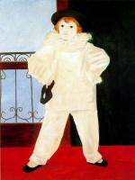 Ю. Пуджиес. Мальчик в костюме Пьеро
