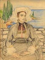 Елена Андреевна Киселева. Коновланка. 1920