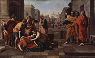 Nicola Poussin. The Death Of Sapphires