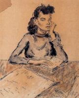 Артуро Соуто. Задумчивая девушка