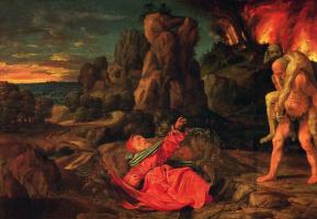 Джованни Джироламо Саволдо. Искушение святого Иеронима