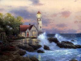 Thomas Kincaid. A beacon of hope
