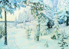 Apollinarius Mikhailovich Vasnetsov. Winter dream