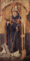 Polyptych of St. Gregory, right, of St. Benedict