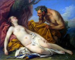 Карл (Шарль-Андре) Ванлоо. Юпитер и Антиопа