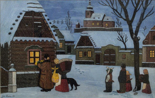 Зима в Грусице
