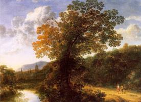 Жиль Нейтс. Дерево на берегу