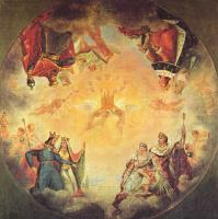 Антуан-Жан Гро. Первый этюд для купола Пантеона