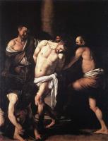 Микеланджело Меризи де Караваджо. Бичевание Христа