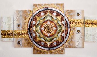 """Mandala """"Protection, success and family well-being"""""""