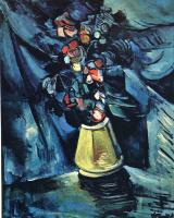 Морис де Вламинк. Натюрморт с вазой цветов