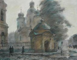 Виктор Романович Семыкин. Владимирская церковь