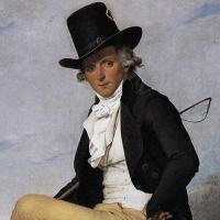 Жак-Луи Давид. Портрет Пьера Серизиата. Фрагмент