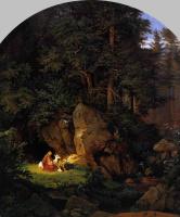 Адриан Людвиг Рихтер. Уединение в лесу