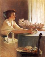 Джон Уайт Александер. Луговые цветы