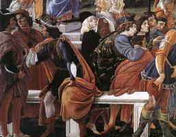 Сандро Боттичелли. Искушение Христа