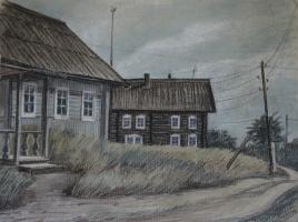Ирина Соболева. Деревенская улица