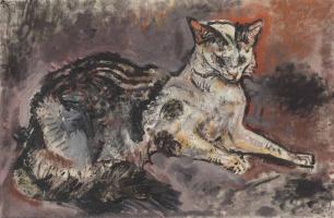 Оскар Кокошка. Кошка