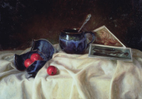 Juliet Aristeides. Broken pot