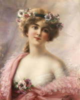 Emile Vernon. Summer beauty. Private collection