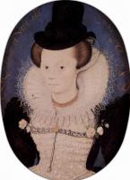 Николас Хильярд. Портрет неизвестной женщины