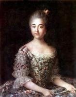 Иван Петрович Аргунов. Портрет B. П. Шереметьевой. 1768