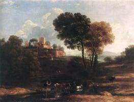Клод Лоррен. Пейзаж с пастухами