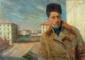 Umberto Boccioni. Self-portrait