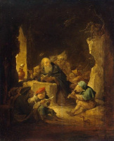 Давид Тенирс Младший. Искушение святого Антония