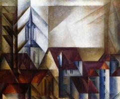 Lionel Feininger. Teltow