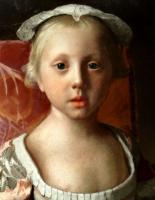 Жан-Этьен Лиотар. Принцесса Луиза Анна (деталь)