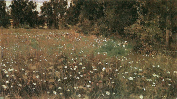 Apollinarius Mikhailovich Vasnetsov. Flowering meadow