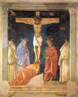 Андреа дель Кастаньо. Распятие и святые