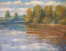 Андрей Александрович Кугаевский. Полдень на реке